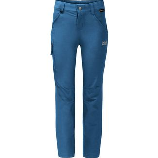 Jack Wolfskin Activate Softshellhose Kinder indigo blue