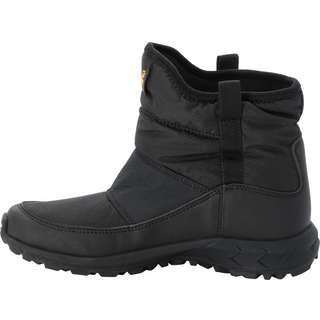 Jack Wolfskin Woodland Winterschuhe Kinder black-burly yellow xt