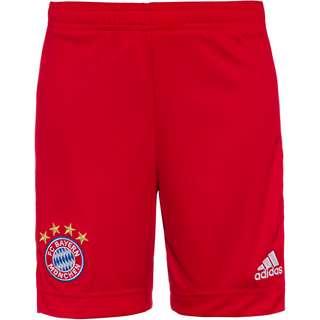 adidas FC Bayern 20/21 Heim Fußballshorts Kinder fcb true red