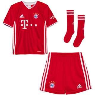 adidas FC Bayern 20/21 Heim Minikit Trainingsanzug Kinder fcb true red
