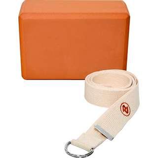 ALEX Yoga Block orange-beige