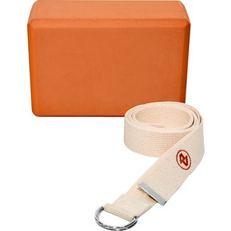 ALEX Yoga Block orange-beige