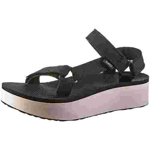 Teva Flatform Universal Sandalen Damen black-tan