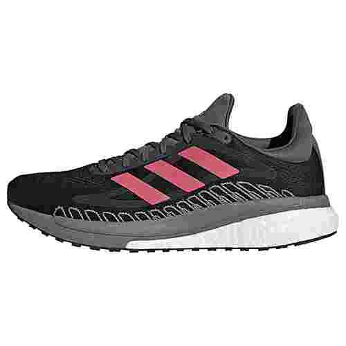adidas SolarGlide ST 3 Laufschuh Laufschuhe Herren Core Black / Signal Pink / Copper Metallic