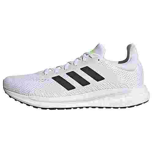 adidas SolarGlide 3 Laufschuh Laufschuhe Herren Cloud White / Core Black / Signal Green