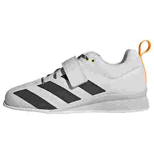 adidas Adipower II Gewichtheberschuh Fitnessschuhe Damen Crystal White / Grey Six / Solar Gold