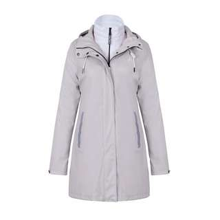 Dingy Weather 3 in 1 Regenjacke Outdoorjacke Damen hellkaki