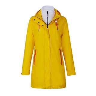 Dingy Weather 3 in 1 Regenjacke Outdoorjacke Damen gelb