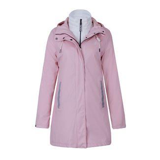 Dingy Weather 3 in 1 Regenjacke Outdoorjacke Damen puderrosa