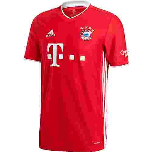 adidas FC Bayern 20/21 Heim Fußballtrikot Herren fcb true red