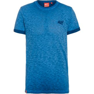 Superdry T-Shirt Herren true blue