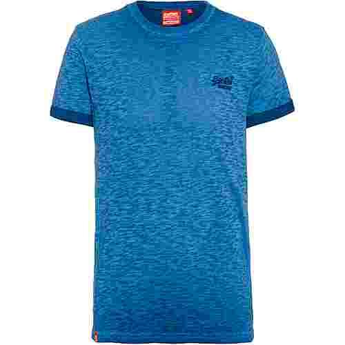 Superdry T-Shirt Herren true blue