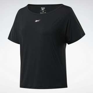 Reebok ACTIVCHILL Boxy T-Shirt Funktionsshirt Damen Schwarz