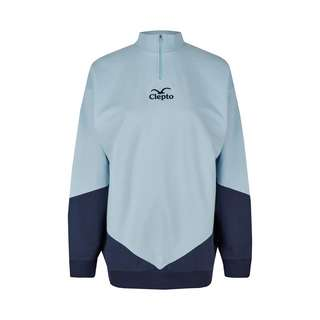 Cleptomanicx Longsweat Damen Blue Angel