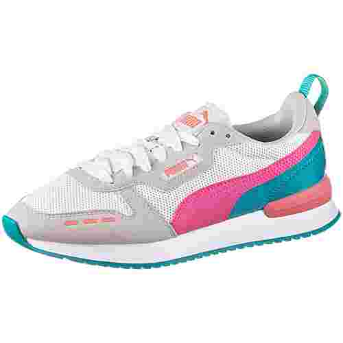 PUMA R78 Sneaker Damen puma white-glowing pink-gray