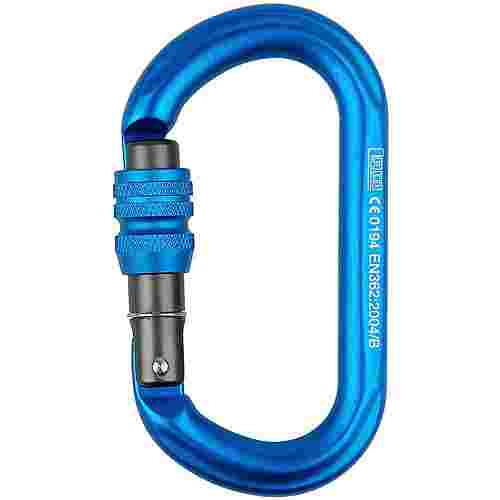 LACD Biner Oval Screw Karabiner blue