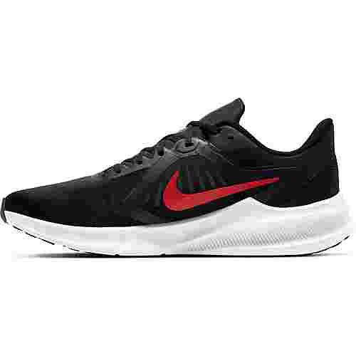 Nike Downshifter 10 Laufschuhe Herren black-university red-white