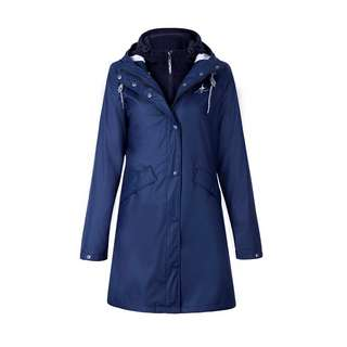 Dingy Weather 3 in 1 Regenjacke Outdoorjacke Damen dunkelblau