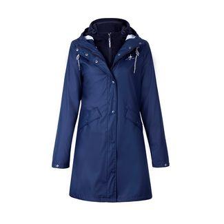 Dingy Weather 3 in 1 Regenjacke Outdoorjacke Damen dunkelblau