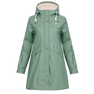 Dingy Weather 3 in 1 Regenjacke Outdoorjacke Damen grün