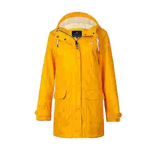 Dingy Weather Friesennerz Outdoorjacke Damen gelb