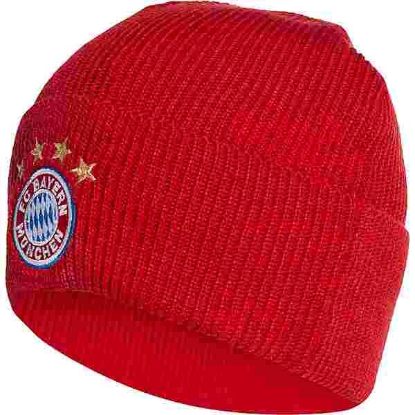 adidas FC Bayern München Beanie Herren rot