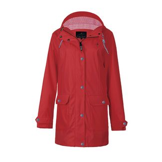 Dingy Weather Friesennerz Outdoorjacke Damen rot