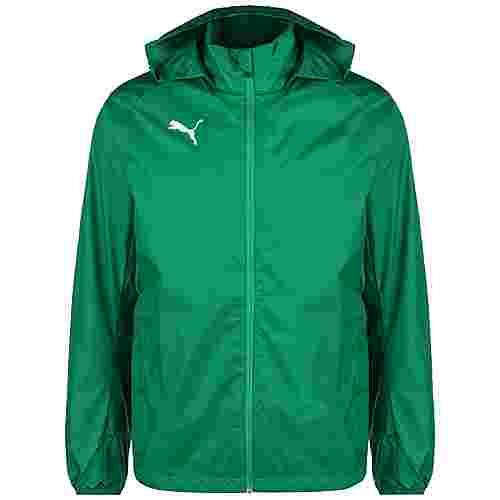 PUMA Liga Training Regenjacke Herren grün / weiß