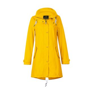 Dingy Weather Friesennerz Outdoorjacke Damen gelb