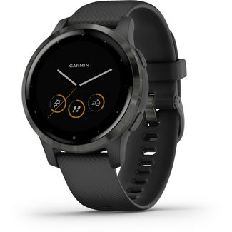 Garmin VIVOACTIVE 4S Fitness Tracker black slate