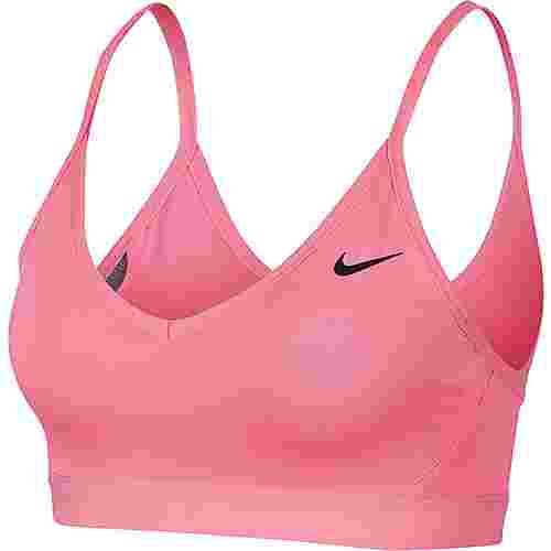 Nike Indy BH Damen pink glow-black