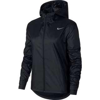 Nike Essential Laufjacke Damen black-reflective silv