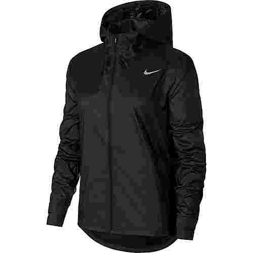 Nike Essential Funktionsjacke Damen black-reflective silv