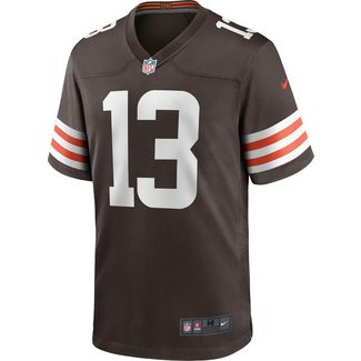 Nike Odell Beckham Jr. Cleveland Browns American Football Trikot Herren seal brown
