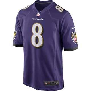 Nike Lamar Jackson Baltimore Ravens Trikot Herren new orchid