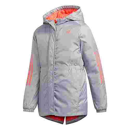 adidas Insulated Jacke Funktionsjacke Kinder Grau