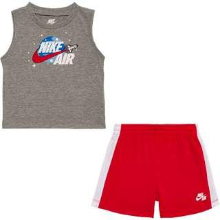 Nike AIR MUSCLE & FT SHORT SET Trainingsanzug Kinder university red