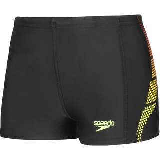 SPEEDO Badeshorts Kinder black-lava red-fluo yellow