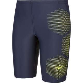 SPEEDO Jammer Kinder true navy-fluo yellow