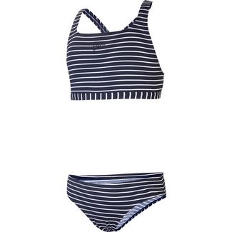 SPEEDO Bikini Set Kinder stripe navy-white