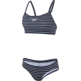 SPEEDO Bikini Set Damen nvy/wh