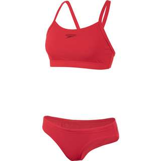 SPEEDO Bikini Set Damen red