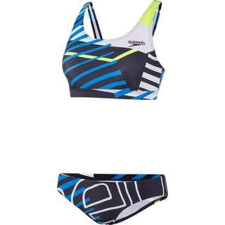 SPEEDO Bikini Set Damen navy/blue