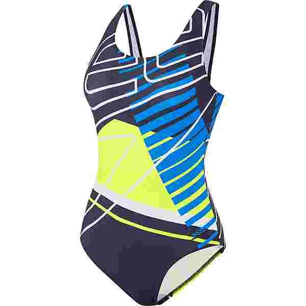 SPEEDO Placement U-Back Schwimmanzug Damen navy-blue