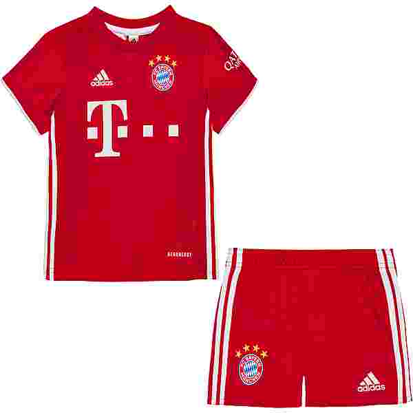 adidas FC Bayern 20/21 Heim Babykit Trainingsanzug Kinder fcb true red