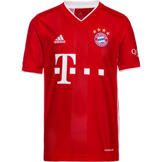 adidas FC Bayern 20/21 Heim Fußballtrikot Kinder fcb true red