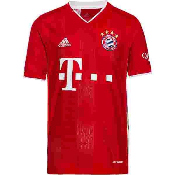 adidas FC Bayern 20/21 Heim Trikot Kinder fcb true red