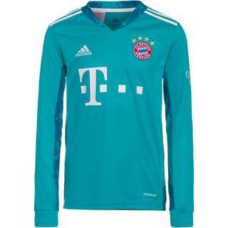adidas FC Bayern 20/21 Torwarttrikot Kinder lab green