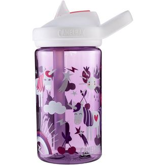 Camelbak eddy+ Kids 0,4 L Trinkflasche Kinder unicorn party