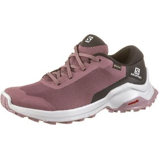 Salomon GTX® X Reveal Wanderschuhe Damen flint-black-quail